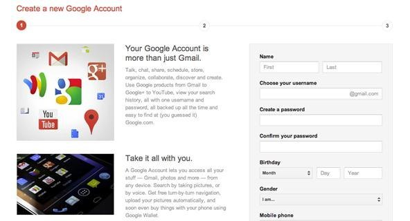 make a google account for my child